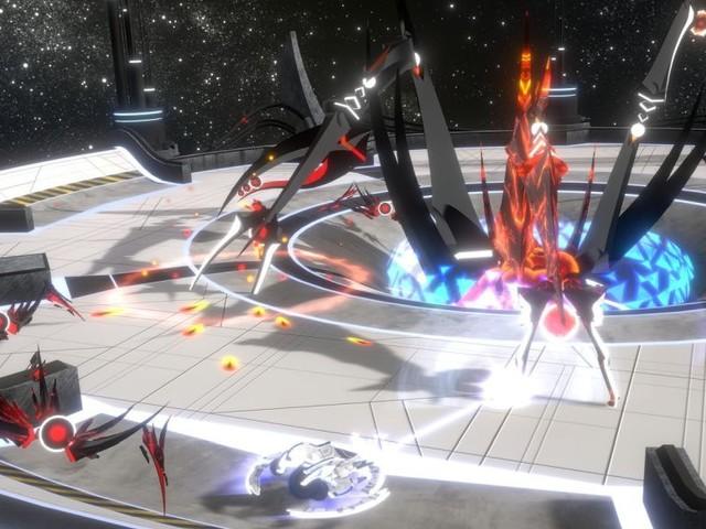 Curved Space: Feuer frei für die kosmische Arcade-Ballerei