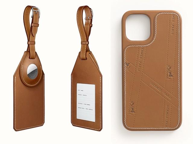 Hermès bietet in seinem Shop exklusiven AirTag-Gepäckanhänger und neues iPhone 12 Case an