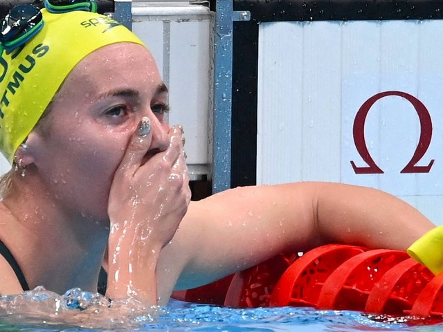 Schwimmen: Australierin Titmus schneller als Favoritin Ledecky