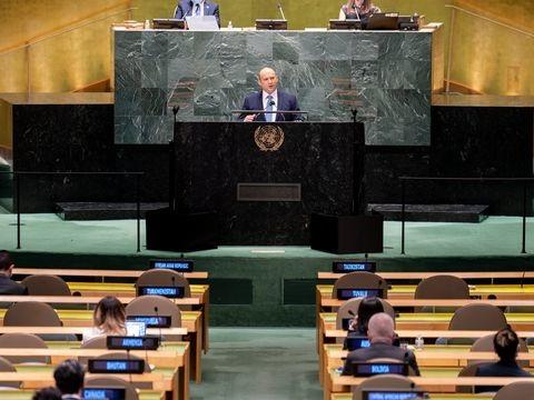 Vollversammlung in New York: Israels Ministerpräsident droht Iran vor UN im Atomstreit