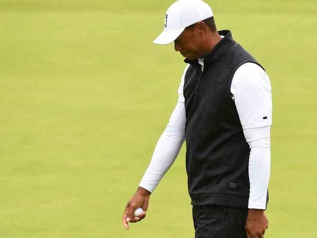 British Open : Golfstar Tiger Woods im Teufelskreis