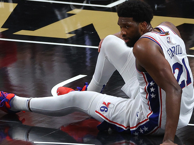 NBA: Embiid ohne Punkte in Halbzeit zwei! Wie ein Knie die Sixers bangen lässt