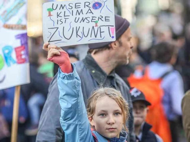 """Klimaproteste in Deutschland: """"Wir werden nicht aufhören"""""""