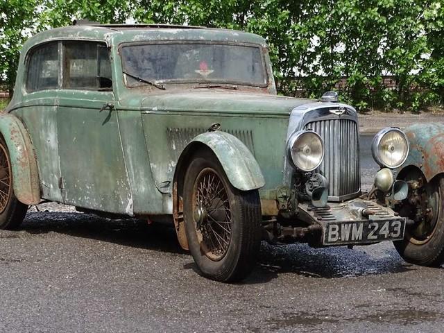 Ihn gab es nur 24 Mal: Seltener Aston Martin nach 50 Jahren wiederentdeckt