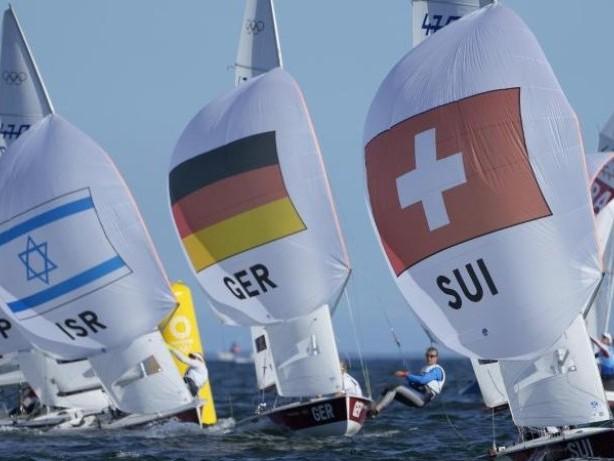 Olympia: Segler Wanser/Winkel zum Abschluss der Regatten Sechste