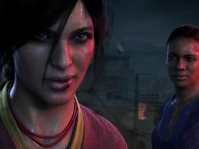 """Uncharted: The Lost Legacy - E3-Spielszenen: Chloe und Nadine durchqueren die Ruinen des """"Hoysala Imperiums"""""""