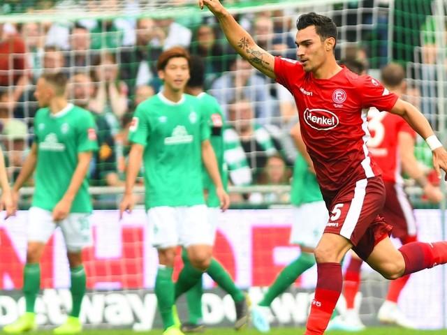 3:1 in Bremen: Düsseldorf startet furios ins zweite Bundesliga-Jahr