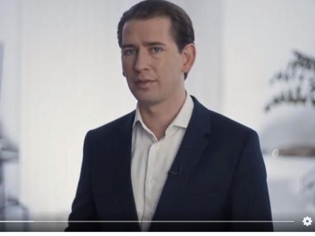 """Videobotschaft: Kurz spricht von """"Resignation und Wut"""""""