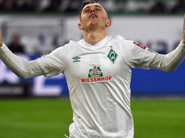 Bundesliga: Rashica-Doppelschlag in Wolfsburg lässt Werder Werder durchatmen
