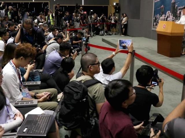 Nach Massenprotesten: Hongkong setzt Auslieferungsgesetz aus