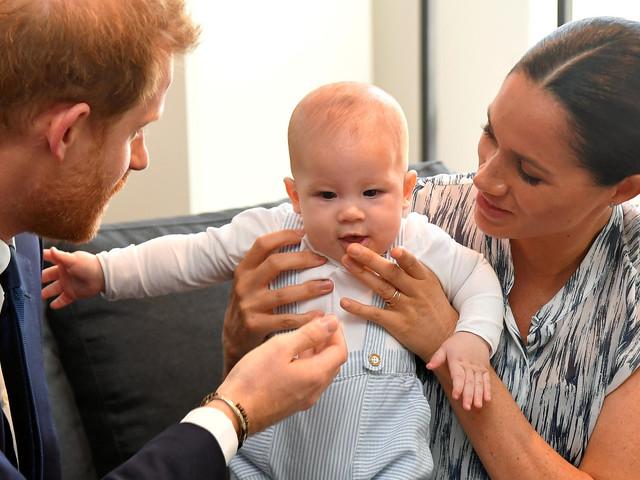 Harry und Meghans neues Foto von Archie spaltet die Gemüter