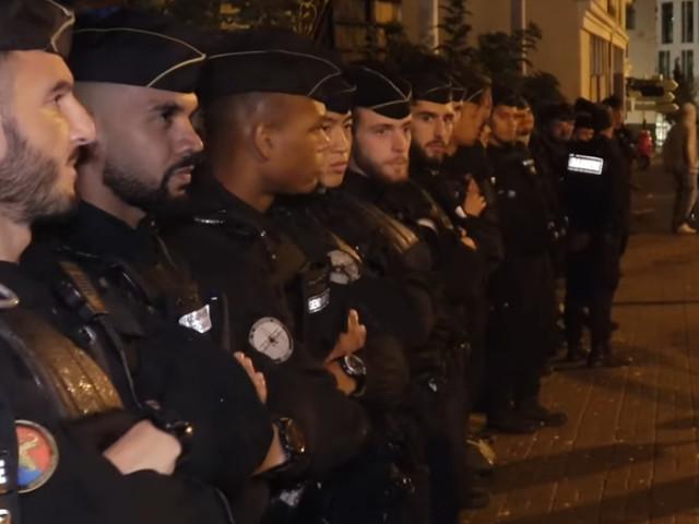 Frankreich ist ein Polizeistaat