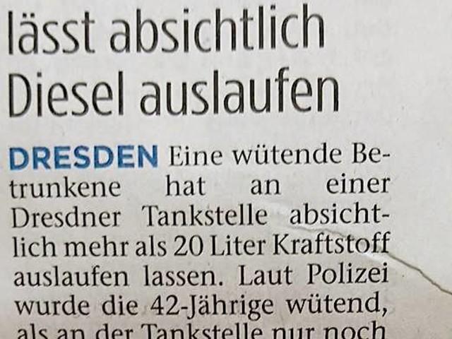 Wenn der Wein alle ist: Dresden-Edition