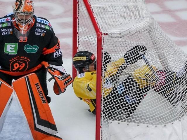 Eishockey: Capitals stimmten sich mit Sieg auf den KAC ein