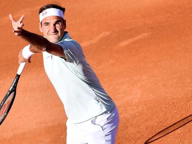 Roger Federer: Zwingt ihn eine nasse Linie in die Knie?