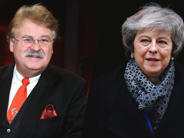 """Brexit-Rede von Theresa May – Elmar Brok: """"Ich habe keinen Plan B gehört"""""""