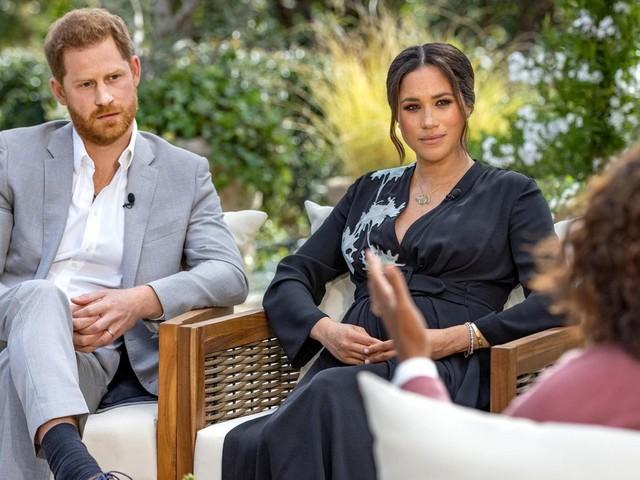 Royals: Von wem Meghan während des Oprah-Interviews Unterstützung per SMS bekam