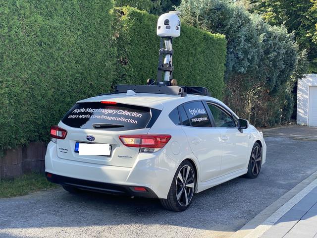 Apple Maps: Bilderfassung in Deutschland jetzt auch per Kamera-Rucksack