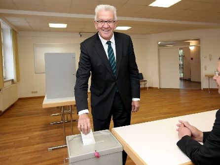 Newsblog zur Bundestagswahl 2017: Kretschmann hofft auf gutes Ergebnis für die Grünen