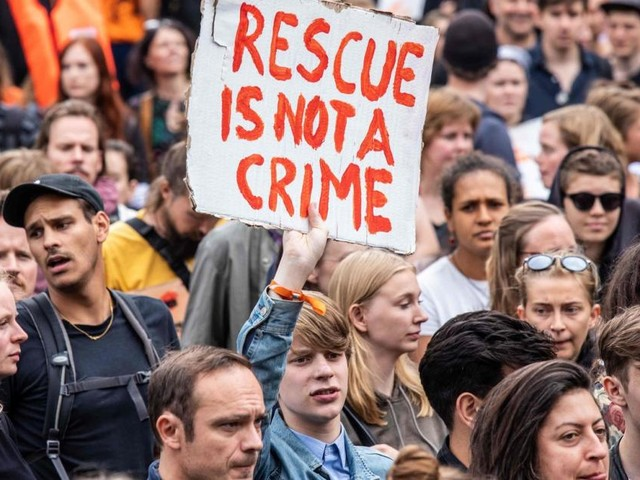 Nur zehn Prozent der Migranten in Italien von NGOs an Land gebracht