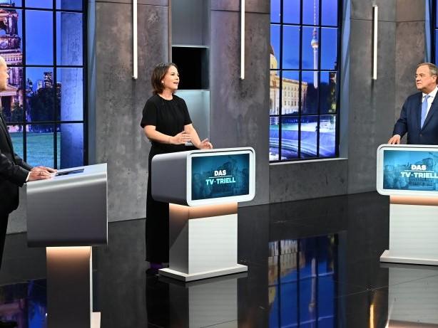 Bundestagswahl: Ergebnis des Wahlkampf-Triells: So hitzig war die Debatte