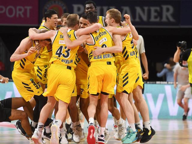 Gegen Bayern: Alba setzt sich Basketball-Krone auf