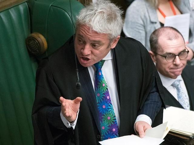 Brexit - Parlamentspräsident macht britischer Regierung Strich durch die Rechnung