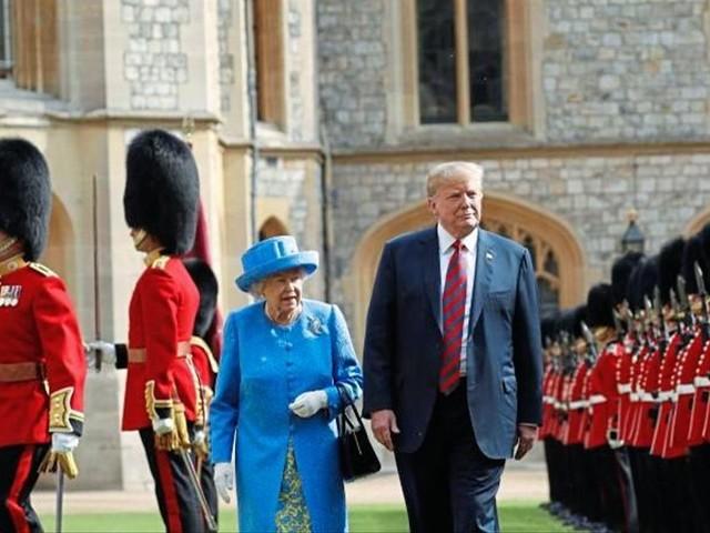 Donald Trump bekommt seinen Staatsbesuch in London