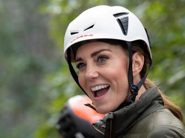 Herzogin Kate stellt ihre Sportlichkeit unter Beweis