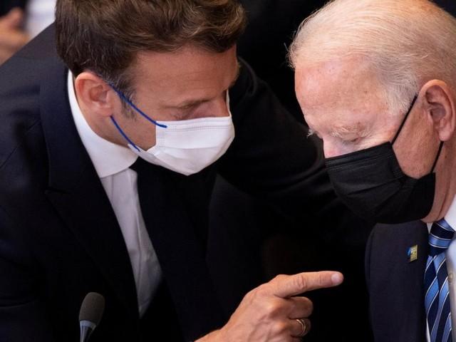 Nach U-Boot-Streit: Biden und Macron planen Treffen im Oktober