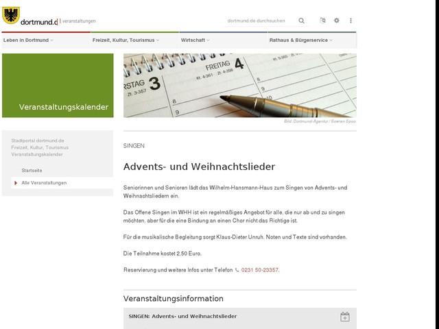 SINGEN: Advents- und Weihnachtslieder - Anderes - Anygator.com