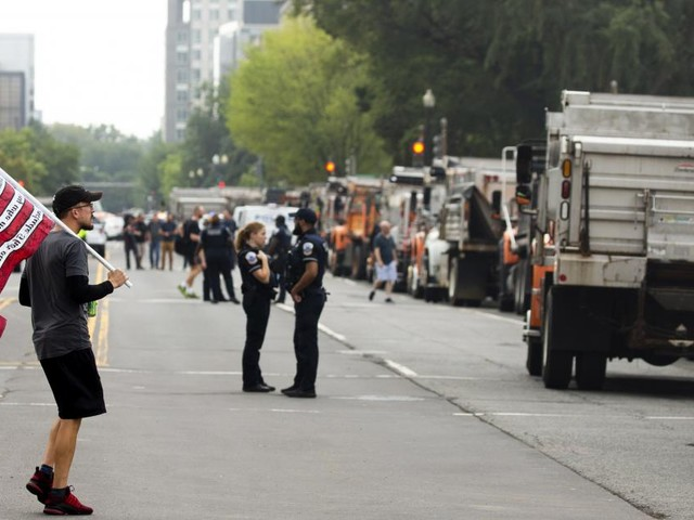 Dejà-Vu: Pro-Trump-Demonstration am US-Kapitol