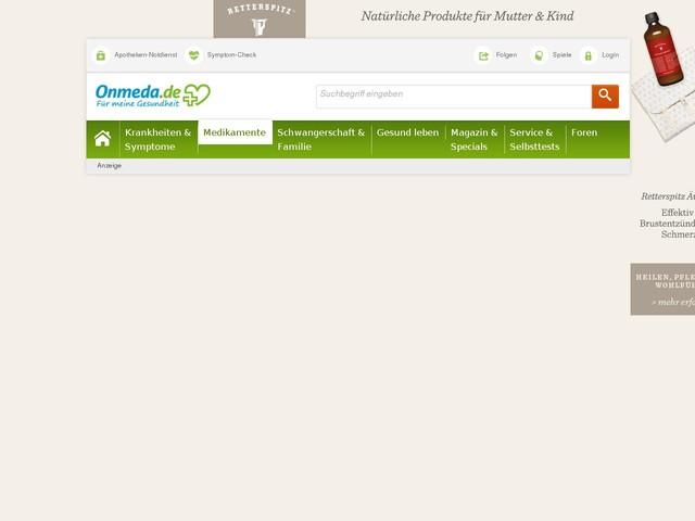 Akute Bronchitis: Medikamente (rezeptfrei) - Onmeda.de