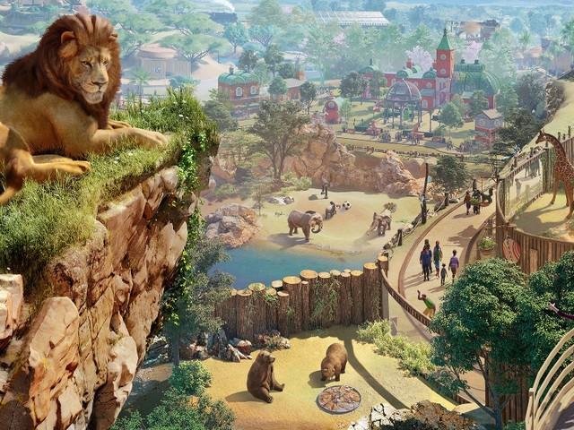 Planet Zoo: North America Animal Pack mit acht Tieren angekündigt
