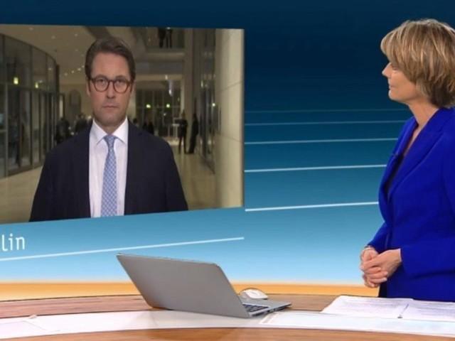 ZDF-Frau Slomka geht Scheuer nach Diesel-Gipfel an – der macht ihr ein Angebot