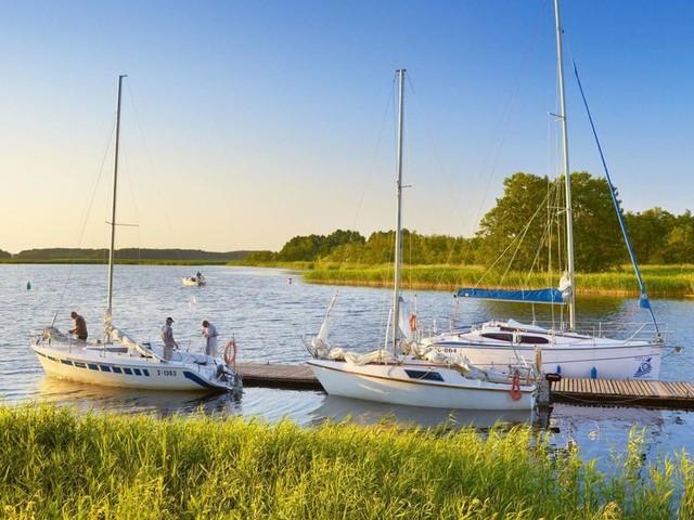 Suche nach der Ruhe:Bootsurlaub in Masuren