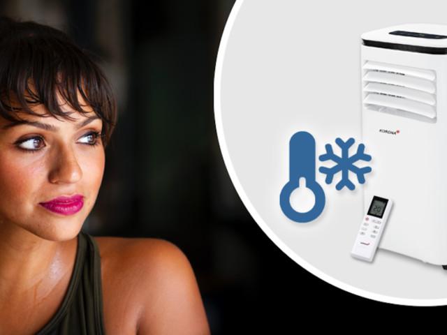 Shopping-Deal mit FOCUS Online - Mobiles Klimagerät zum Schnäppchen-Preis: Iceberg 9.0 Eco für nur 289 statt 549,99 Euro