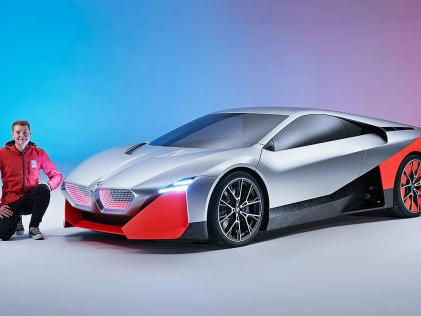 BMW Vision M Next (2019): Test Studie, Hybrid, M1, Motor, Bilder BMWs M-Sportwagen von morgen