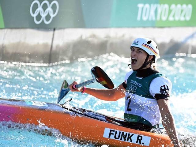 Olympia 2021: Erstes Gold für Deutschland: Funk siegt im Kanuslalom