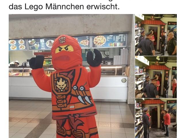 Österreich: Polizeieinsatz wegen Ninjago-Lego-Mann