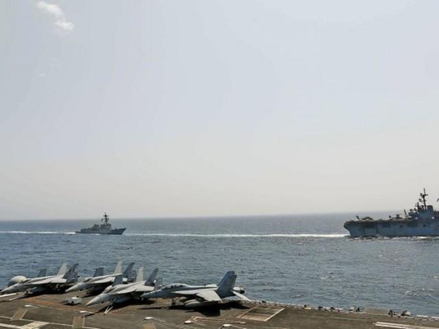Golf von Oman: US-Marine meldet Notrufe von zwei attackierten Tankern