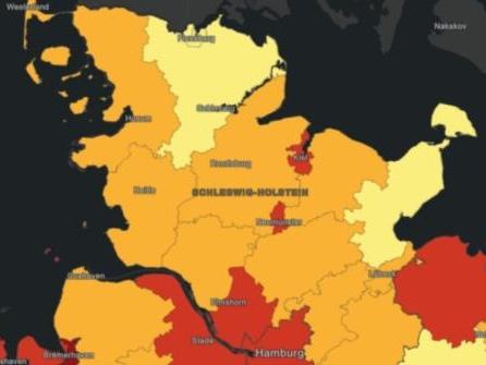 Inzidenz in Ostholstein sinkt wieder unter 25