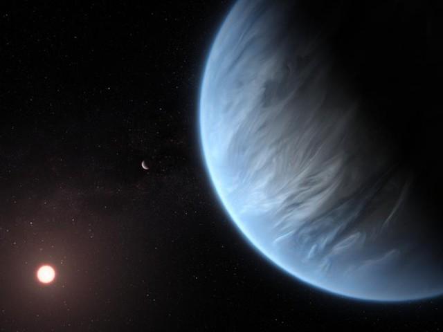 Forscher entdecken erstmals Wasserdampf in der Atmosphäre eines fernen Planeten