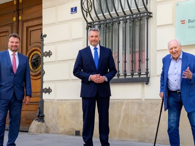 Innenministerium lässt seinen historischen Hauptsitz restaurieren