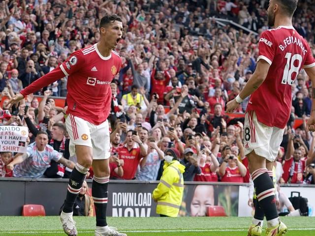Zwei Tore: Ronaldo schießt United an die Spitze der Premier League