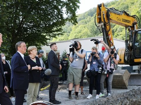 Zwei Monate nach Flut: Brücke in Hagen wird freigegeben