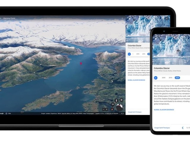 Google Earth: Riesiges Update fügt die Komponente Zeit hinzu