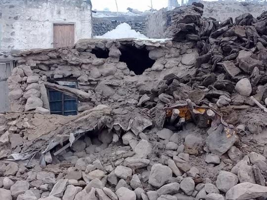Iranisch-türkisches Grenzgebiet - Mindestens neun Tote durch Erdbeben