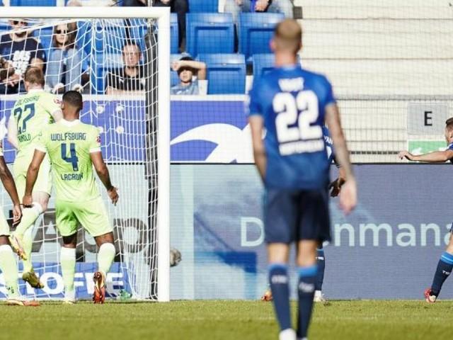 Erste Niederlage für Wolfsburg