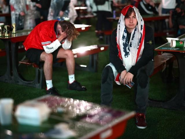 """""""Kompletter Albtraum"""": Krawallnacht der englischen Fans in London"""